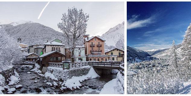 Case Di Montagna A Natale : La casa in montagna a ponte di legno e temù